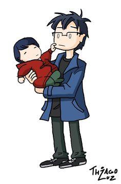 eu comigo bebê, feliz dia das crianças...
