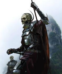 Skullman, Damian Audino on ArtStation at https://www.artstation.com/artwork/n4zg6