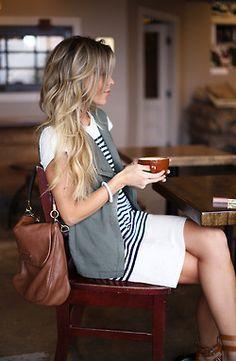 vest envy  hair envy