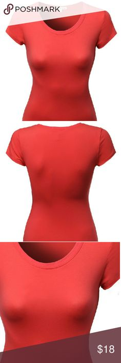 Lightweight Basic Crewneck Short Sleeve Boy Tee Made by Emma is a brand based on the styles you love! Everywhere you go enhance your style. The more you save and explore, the more we'll get to know your personal style.  Cotton 57% Polyester 38% Spandex 5% Ambiance Apparel Tops Tees - Short Sleeve