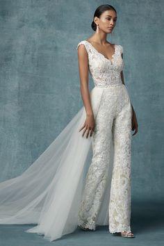Wedding Robe, Wedding Pantsuit, Wedding Attire, Wedding Gowns, Lace Wedding, Womens Wedding Suits, Mermaid Wedding, 2 Piece Wedding Dress, Fancy Wedding Dresses
