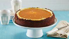 Oppskrift på Vanilla cheesecake med salt karamell og sjokolade Baking Recipes, Dessert Recipes, Cheesecake, Norwegian Food, Cheat Meal, Mousse Cake, Tin, Sweet Tooth, Vanilla