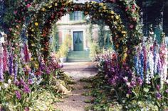 Monet Gardens. Giverny, France.