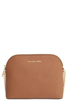 3731357d9af24c MICHAEL MICHAEL KORS 'Large Cindy' Dome Crossbody Bag. #michaelmichaelkors # bags #