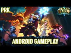 HEROES LEAGUE: WAR OF LEGENDS Gameplay on Android / Partida de HEROES LEAGUE:.. - YouTube #androidgame #android #rpg #mobile #gaming #galaxys6 #s6edge