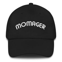 Momager embroidered Classic Dad Cap Baseball Gifts 18a952d24f12