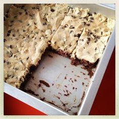 Allergy-free cookie dough brownies, Elizabeth Gordon