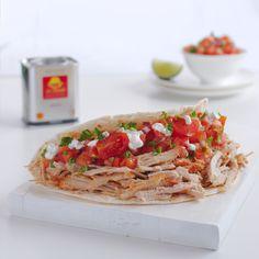 Pulled Pork Tortillas Tacos de Cerdo #smokedpaprikapowder #pimentónahumado #pimentóndelavera