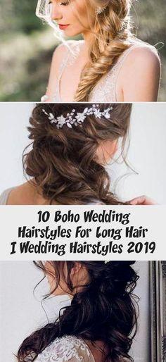 10 Boho Wedding Hairstyles For Long Hair Messy Wedding Hair, Long Hair Wedding Styles, Long Hair Styles, Wedding Hairstyles For Girls, Girl Hairstyles, Boho Trends, Bohemian Look, Plaits, Perfect Wedding