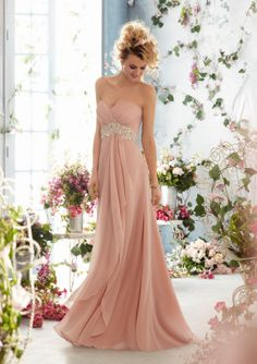 Mori Lee Silhouette Empire Waist Neckline Strapless, Sweetheart #timelesstreasure