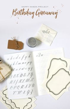 How does a modern calligraphy starter kitgiveaway sound? It's time for me to give one away for free! It's that time of the year again. January is a very important month for Happy Hands Project and myself because I will be celebrating three things—my birthday, the HHP blog anniversary, and my wedding anniversary! This moderncalligraphy …