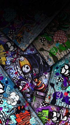 Graffiti Art iPhone Wallpaper - iPhone Wallpapers
