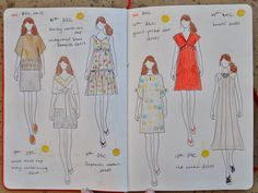 Handmade by Carolyn: the paper doll project