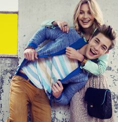 """Francisco and Caroline C. """"Now is Neon"""" Review Lookbook Fall 2012."""