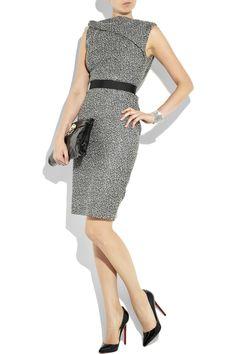 Victoria Beckham tweed dress