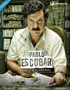 La vida de Pablo Escobar a la TV. Excélsior