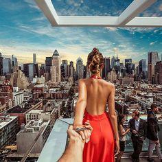Follow me to new heights in Manhattan ...  (Follow Me Project - Murad Osmann )