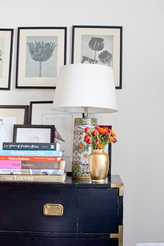Via Design Sponge. Loving this navy / cornflower blue for a campaign dresser Campaign Dresser, Campaign Furniture, Interior Styling, Interior Design, Muebles Living, Amber Interiors, My Living Room, Vignettes, Interior Inspiration