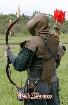 Quiver Elven Leather Arrow Case