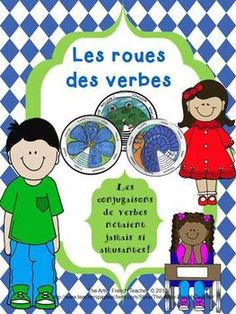 Les roues des verbes - Conjugating French Verbs  http://www.wikihow.com/Memorize-French-ER-Present-Tense-Verbs-Using-Visual-Imagery-Mnemonics