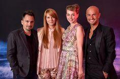 Fashion on Wheels 2012 - Finale, Merbag Retail AG, Zürich Schlieren, 15. September 2012    Die Jury mit Rebekka Ruetz und Peyman Amin    Fotograf: Marcel Sauder Photography