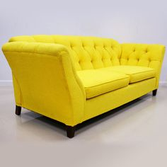 Yellow Vintage Sofa ~