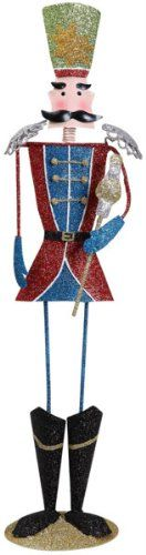 169 Metal Soldier in Red and Blue ** Click image to review more details.