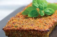 Quinoa and vegetable loaf recipe (vegan) | Nourish magazine Australia