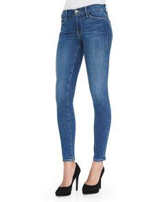 Culver Le Skinny De Jeanne Skinny Jeans, Blue, Size: 29