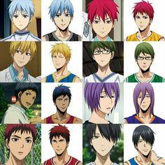 Cute Anime Boy, I Love Anime, Manga Art, Anime Art, Kuroko No Basket Characters, Haikyuu Nekoma, Kiseki No Sedai, Akakuro, Generation Of Miracles