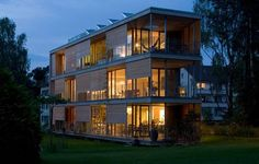 Gebhartstrasse Apartment building is powered by the sun - Ecofriend