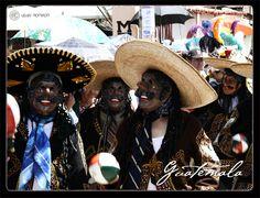 """Danzas folklorica: """"Los Mexicanos"""" en Totonicapan, Guatemala"""