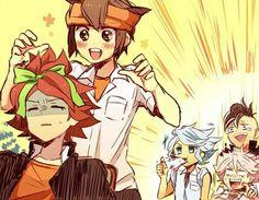 Inazuma Eleven Go Azusa Diabolik Lovers, Litle Boy, Anime Guys, Manga Anime, Naruto Comic, Inazuma Eleven Go, Asuna, Boy Art, Cute Gay