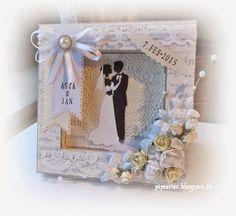 pipserier: Et Bryllups- rammekort.