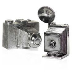 Antique Silver Cameras from Z Gallerie