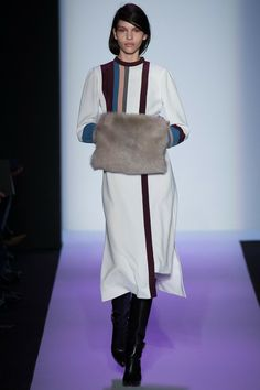 (Ashley was VERY fashion forward with you Christmas Present!  )Early NYFW Report: Fur Muffs Are Happening | The Keep.com Blog