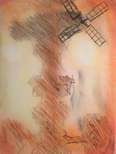 Pastel Practice Original Vintage World Maps, My Arts, Pastel, The Originals, Cake, Crayon Art, Melting Crayons