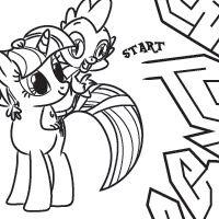 Activity Pony Maze TONS of My Little Pony Activities