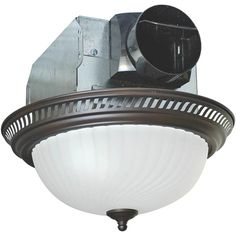 Combination Exhaust Fan And Heater With Light Bathroom