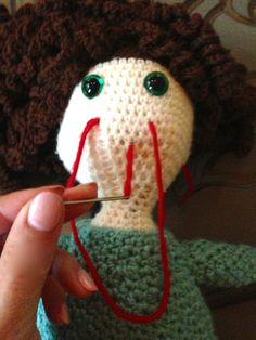 How to Crochet a Doll Free Tutorial - I wish this was offered as a PDF file to acquire the information instead of printing out 49-pages (front/back-Shrink-To-Fit-Size) in order to learn the techniques. But worth the time & trouble.