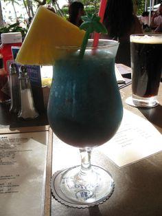 Hawaii Five-0. At Tropics Bar--Hilton Hawaiian Village.