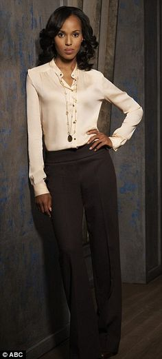 Kerry Washington as Olivia Pope. Already a Classic. The spot is earned.