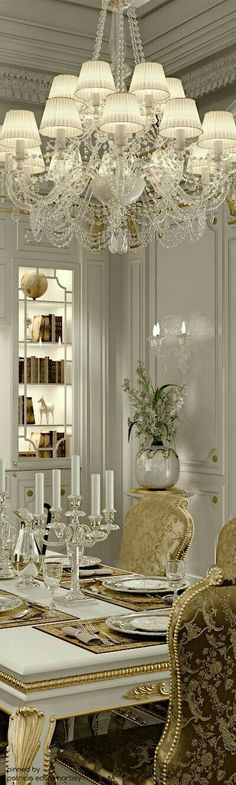 Beautiful Gold and White Chandelier Luxury Lighting Modern Lighting Ideas… Luxury Chandelier, White Chandelier, Luxury Lighting, Modern Lighting, Lighting Ideas, Modern Lamps, Ceiling Chandelier, Contemporary Chandelier, Accent Lighting