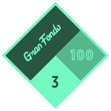 Logotipo de Gran Fondo 100