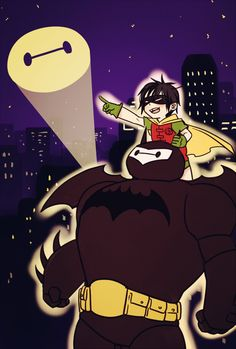 Batmax & Hirobin | Big Hero 6