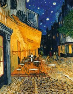 Cafe Terrace Arles Vincent van Gogh print for sale. Shop for Cafe Terrace Arles Vincent van Gogh painting and frame at discount price, ships in 24 hours. Cheap price prints end soon. Vincent Van Gogh, Van Gogh Arte, Van Gogh Pinturas, Art Timeline, Van Gogh Paintings, Van Gogh Museum, Paul Gauguin, Oil Painting Reproductions, Salvador Dali