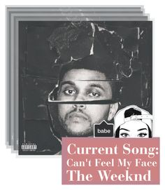 """""""♪Current Song: Can't Feel My Face[The Weeknd]♪"""" by miranda-x ❤ liked on Polyvore"""