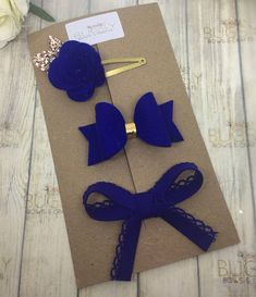 Gorgeous and lovingly handmade fringe set. This particular set is made using 100% wool felt and cotton trim. All bows are available on either a alligator clip, hair bobble or a soft, colour matched nylon headband. There are many colour options and combined postage available,
