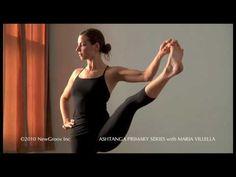 Ashtanga Yoga Primary Series with Maria Villella: Utthita Hasta Padangusthasana