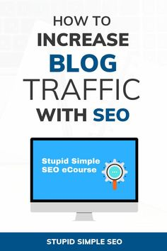 Simple SEO Strategies for Bloggers - Are you looking to make money online  and want to know how to increase traffic to your blog  Learning how to  optimize ... 51b9c133f5d5